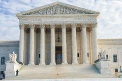 Washington, C C - 10 JANVIER 2014 : Court suprême des Etats-Unis Image libre de droits