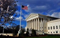 Washington, C.C : Les ÉTATS-UNIS court suprême photographie stock