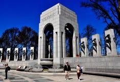 Washington, C.C.: Memorial da segunda guerra mundial Foto de Stock Royalty Free