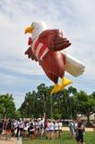 Washington, C C - 4 DE JULHO DE 2017: os balões gigantes são inflados para a participação nacional Dia da Independência parada o  Foto de Stock Royalty Free