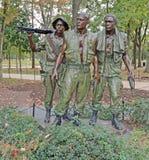Washington, C.C. el monumento de Corea Soldliers Fotos de archivo libres de regalías