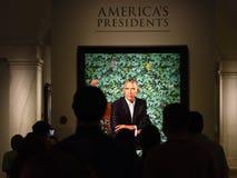 Washington, C.C - 1er juin 2018 : Les gens près du portrait du images stock