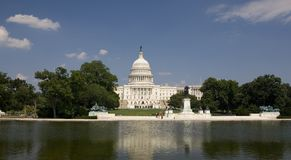 Washington Campidoglio Fotografia Stock Libera da Diritti