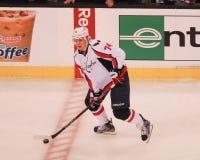 John Carlson. Washington Capitals defenseman John Carlson, #74 Royalty Free Stock Photo
