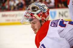 Washington Capitals goalie Philipp Grubauer Royalty Free Stock Photos