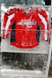 Washington Capitals jersey Royalty Free Stock Image