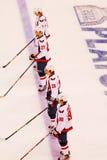 Washington Capitals NHL Hockey Royalty Free Stock Photos