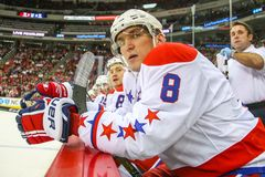 Washington Capitals right wing Alex Ovechkin Stock Photos