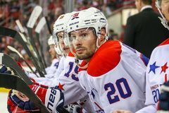 Washington Capitals right wing Troy Brouwer Stock Photography