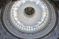 Washington capitol dome internal view Stock Photos