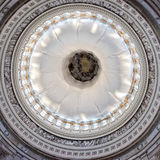 Washington capitol dome internal view Royalty Free Stock Photos