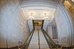 Washington capitol dome internal view Stock Images