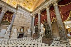 Washington capitol dome internal view Royalty Free Stock Image