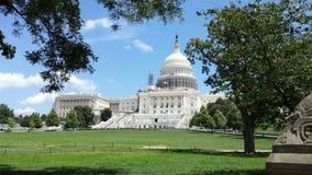 Washington Capitol. Capitol of Washington and garden Royalty Free Stock Images