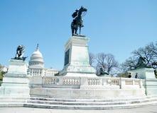 Washington Capitol Grant Memorial 2010 Lizenzfreie Stockbilder