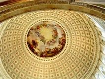 Washington Capitol rotunda 2004 Stock Photography