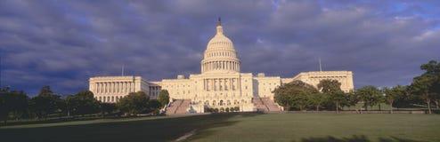 Washington Capitol at sunset Royalty Free Stock Photography