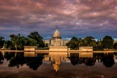 Washington Capitolium Images libres de droits