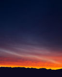 Washington Cascade mountain range at sunrise Royalty Free Stock Photos