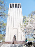 Washington cherry blossom near Taft Memorial April 2010 Royalty Free Stock Images
