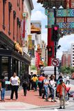 Washington Chinatown Stock Photo