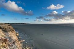Washington Coast Afternoon. Pacific Ocean At the Washington Coast Stock Photo