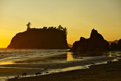 Washington Coast USA Royalty Free Stock Image