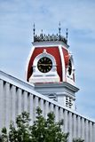 City of Montpelier, State Capital, Washington County, Vermont. New England. United States, State Capital. Washington County Courthouse cupola located in stock photography