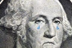 Washington Cries Close Up stock photos