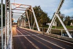 Washington Crossing Bridge royaltyfria foton