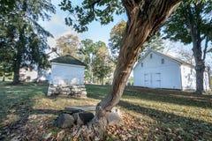Washington Crossing Historic Park, Pennsylvania, de V.S. royalty-vrije stock foto