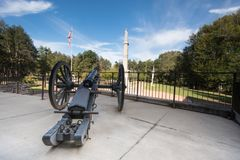 Washington Crossing Historic Park, Pennsylvanie, Etats-Unis photographie stock