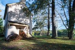 Washington Crossing Historic Park, Pensilv?nia, EUA fotos de stock royalty free