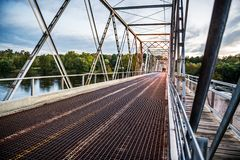 Washington Crossing Roadway royaltyfria foton