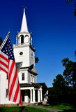 Washington, CT: First Congregational Church Royalty Free Stock Photo