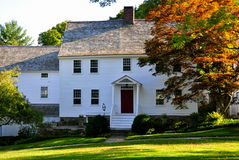 Washington, CT: 18th Century Home Royalty Free Stock Photo