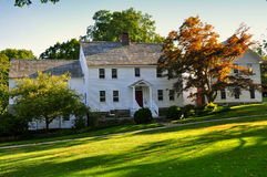 Washington, CT: 18th Century Home Royalty Free Stock Photography
