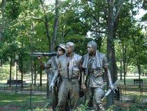 Washington D.C. Vietnam memorial in Washington D.C Stock Photography