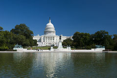 WASHINGTON D.C., THE CAPITOL-SEPTEMBER 21:Capitol Royalty Free Stock Photos