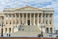 Washington, D C - 10 JANUARI, 2014: Het inbouwen van Washington DC Paleis Stock Foto