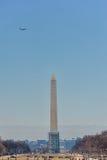 Washington, D C - 09 JANUARI, 2014: Washington Monument Stock Afbeeldingen