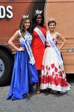 WASHINGTON, D.C. - JULY 4, 2017: winners of beauty contests-participants of the 2017 National Independence Day Parade July 4, 2017. Winners of beauty contests stock photography