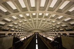 Washington, D.C. Metro Tunnel Royalty Free Stock Images