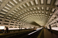 Washington, D.C. Metro Tunnel Stock Photography