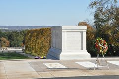 Tomb of the Unknown Soldier in America Royalty Free Stock Images