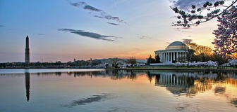 Washington D.C Sunrise Panorama Stock Photography
