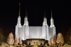 Free Washington D.C. Temple, The Church Of Jesus Christ Of Latter-day Royalty Free Stock Image - 64500046