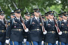 The National Memorial Day Parade stock photo