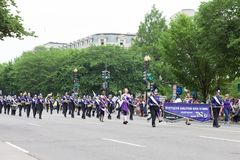 The National Memorial Day Parade stock photography