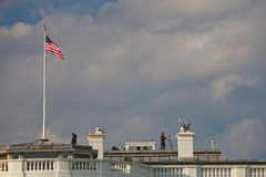 WASHINGTON D.C., USA - The White House Guard Royalty Free Stock Images